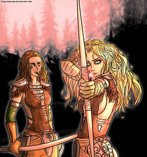 Aela The Huntress and Imandra