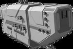 Rampage - Chernobog-class battlecruiser