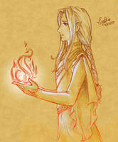 The Golden Flower of Gondolin by Lomelindi88