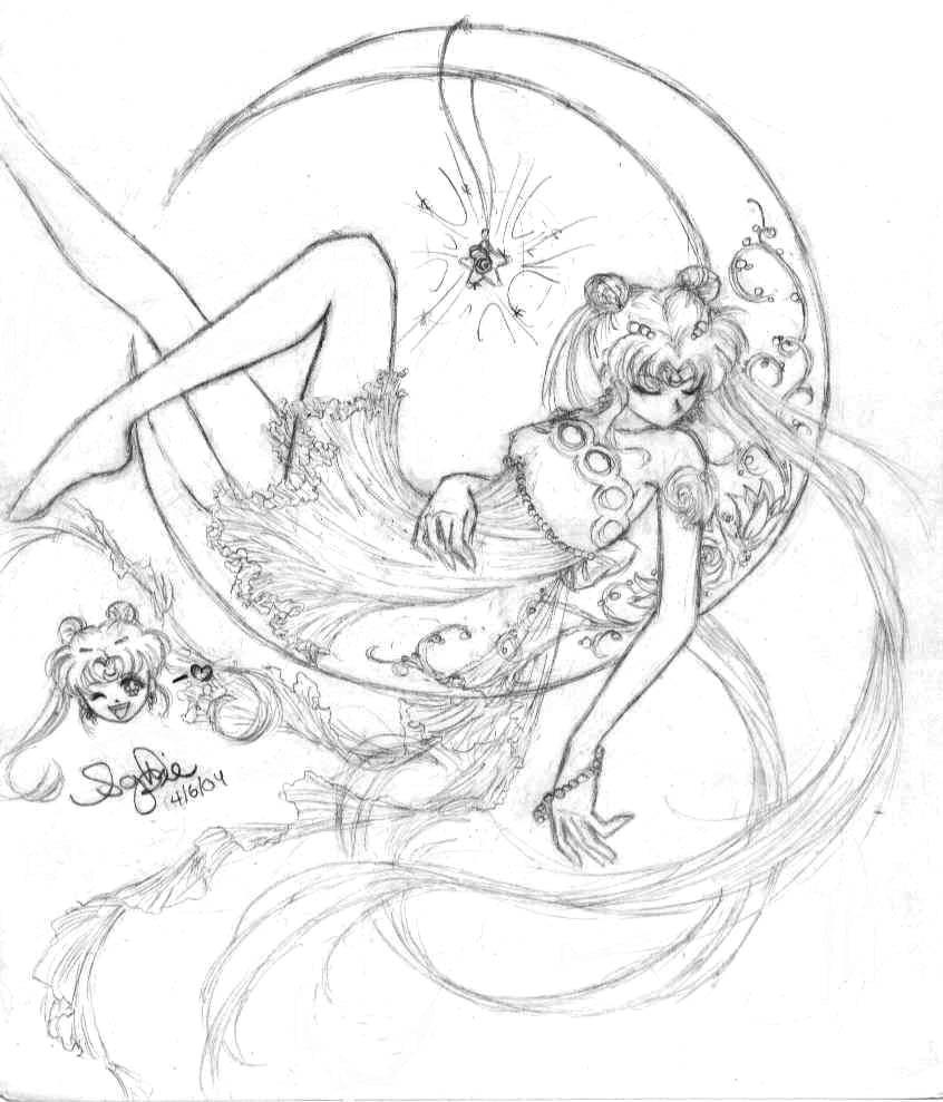 princess sailor moon coloring pages photo20
