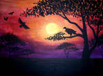 African Sunset by Lomelindi88
