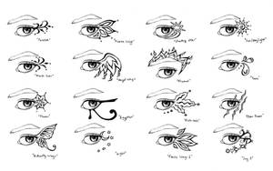 Eye Tattoo Designs by Lomelindi88