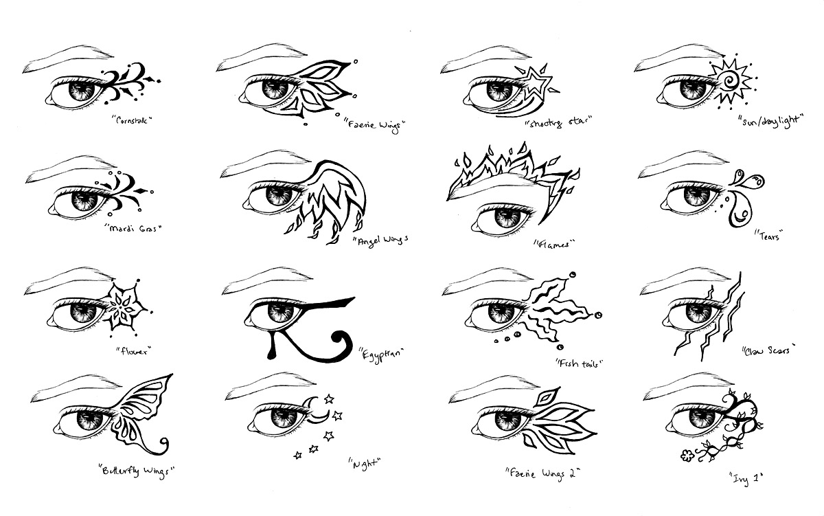 Eye Tattoo Designs by