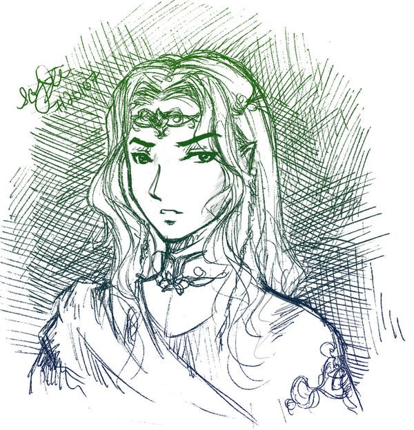 King Thranduil Oropherion by Lomelindi88