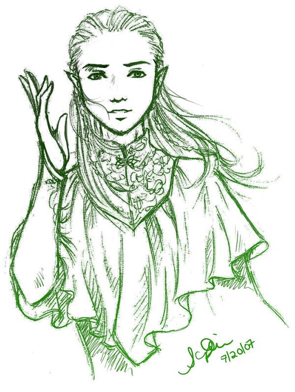 Prince Legolas Thranduillion by Lomelindi88