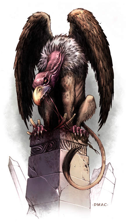 Vulture Sphinx by D-MAC