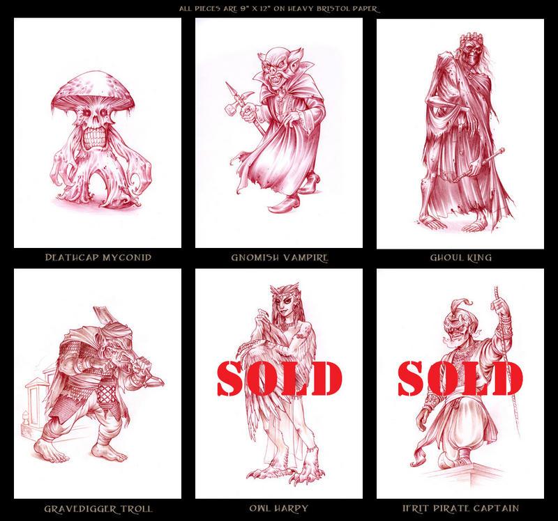 Original pencil art for sale by d mac on deviantart for Original artwork for sale online