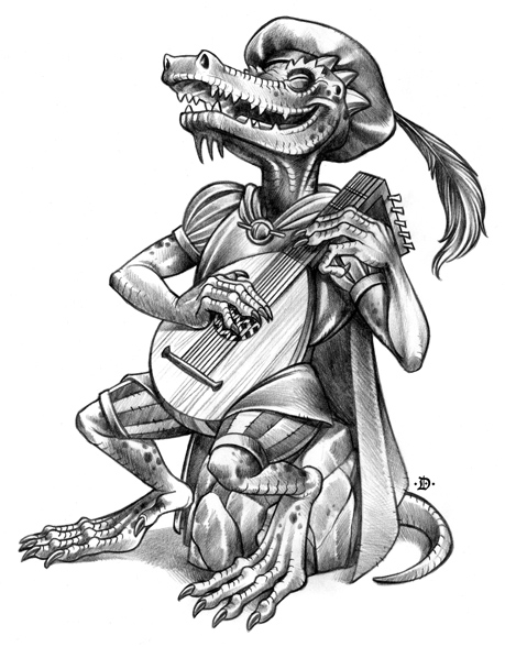 Kobold Bard by D-MAC