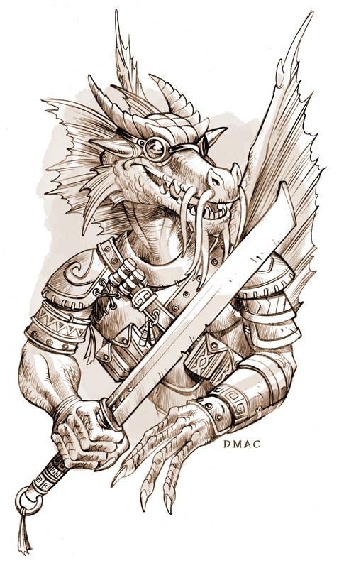 Dragonwrought Kobold by D-MAC