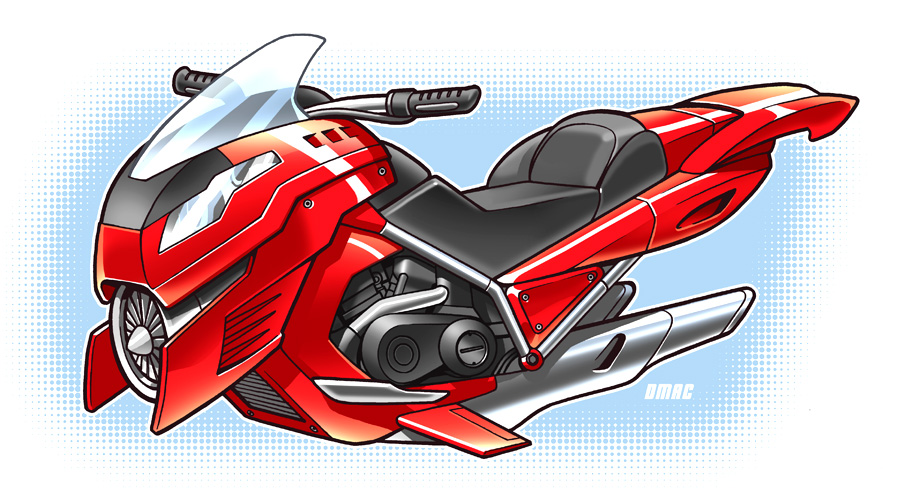 Hoverbike By D Mac On Deviantart