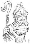 Bullywug Cleric