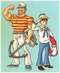 Anchor Man and Buoy Boy