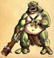 Skullcrusher Ogre by D-MAC