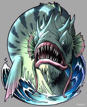 Charybdis the Sea Monster