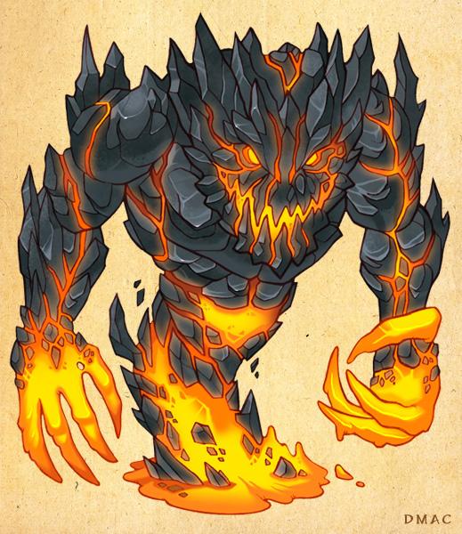 Lava Beast by D-MAC