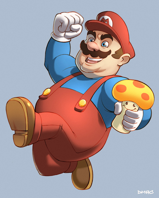Super Mario by D-MAC