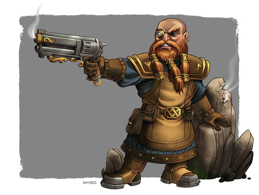 RHUNE Dwarf by D-MAC