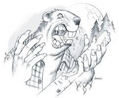 Curse of the Werebeaver by D-MAC