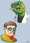 The Lizard and Doctor Octopus