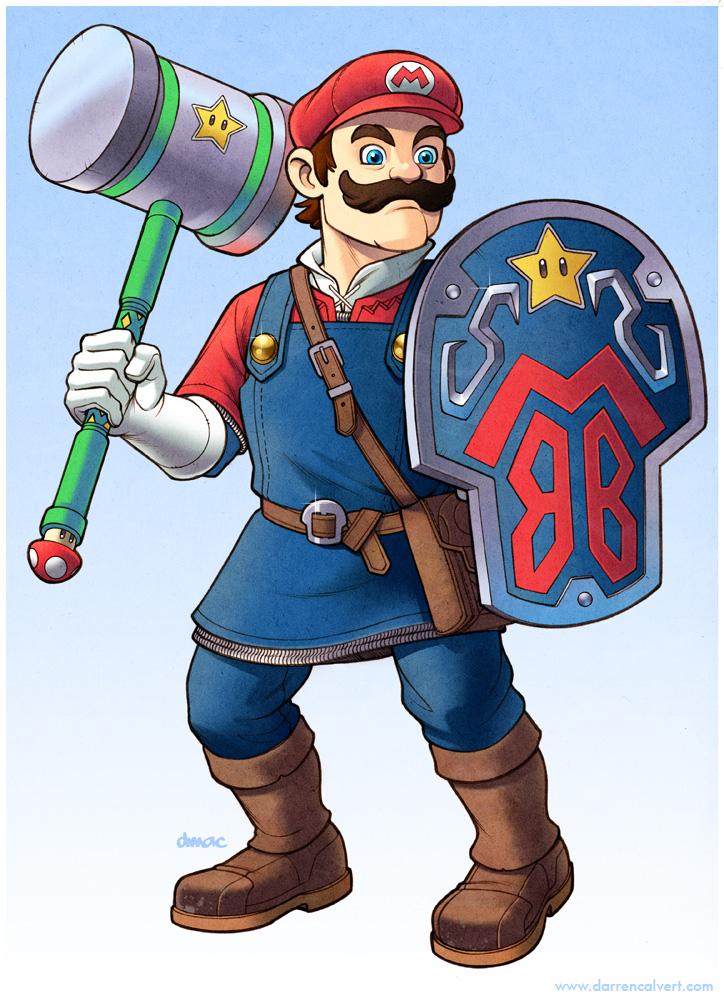 Mario: The Legend of Peach by D-MAC