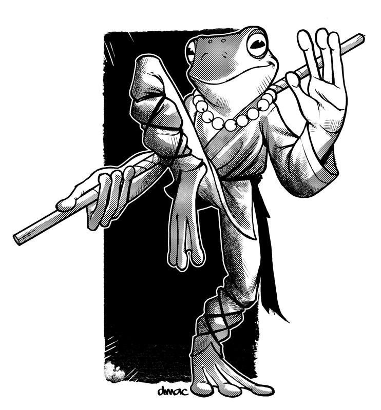 Shaolin Frog by D-MAC