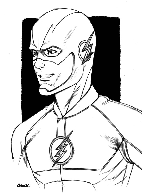 The Flash by D-MAC