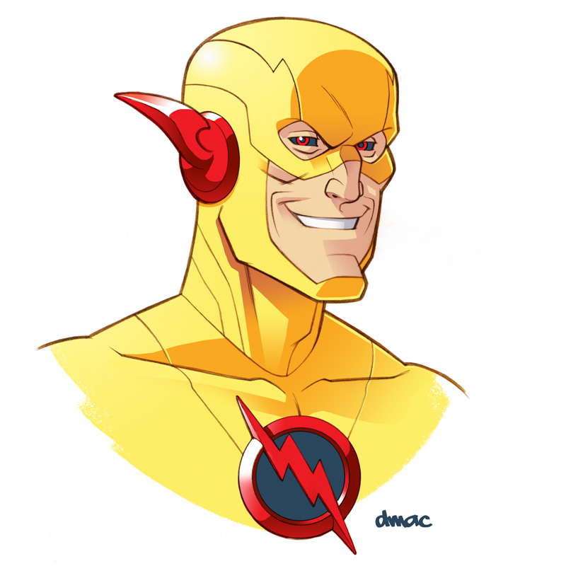 Reverse Flash by D-MAC