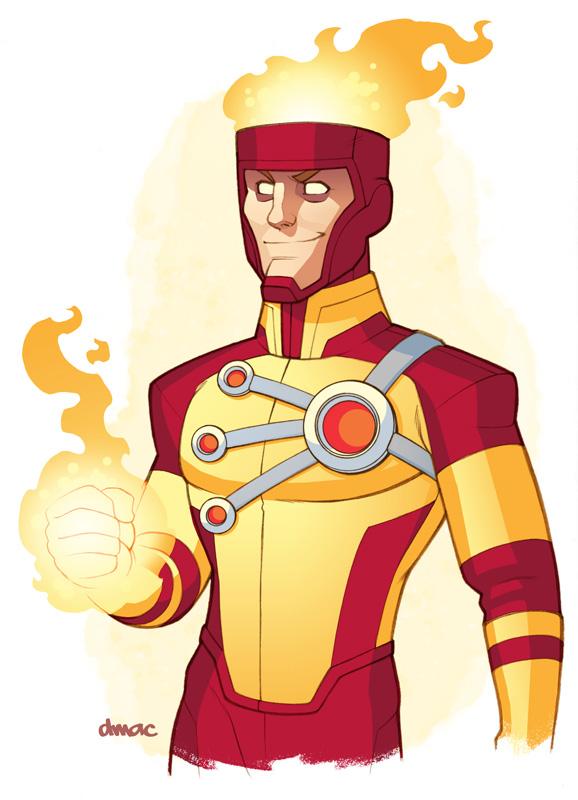 Firestorm: The Nuclear Man by D-MAC