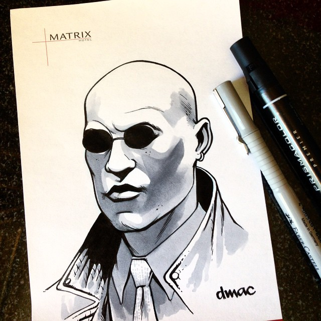 The Matrix Hotel Revolutions by D-MAC