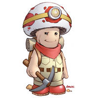 Captain Toad by D-MAC