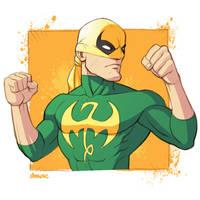 The Immortal Iron Fist by D-MAC