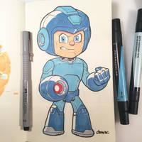 Marker Mega Man