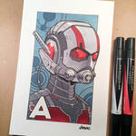 A is for Ant-Man by D-MAC