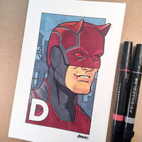 D is for Daredevil by D-MAC