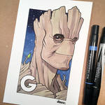 G is for Groot