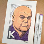 K is for Kingpin