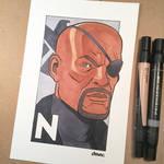N is for Nick Fury