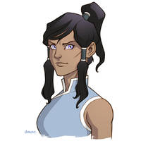 Avatar Korra by D-MAC