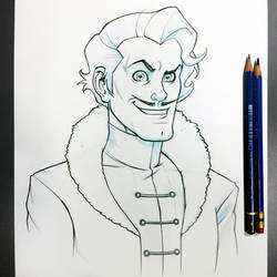 Varrick Sketch by D-MAC