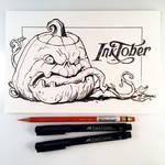 Inktober Day 1 - Jack-o'-lantern