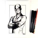 Inktober Day 4 - The Flash
