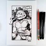 Inktober Day 15 - Raphael
