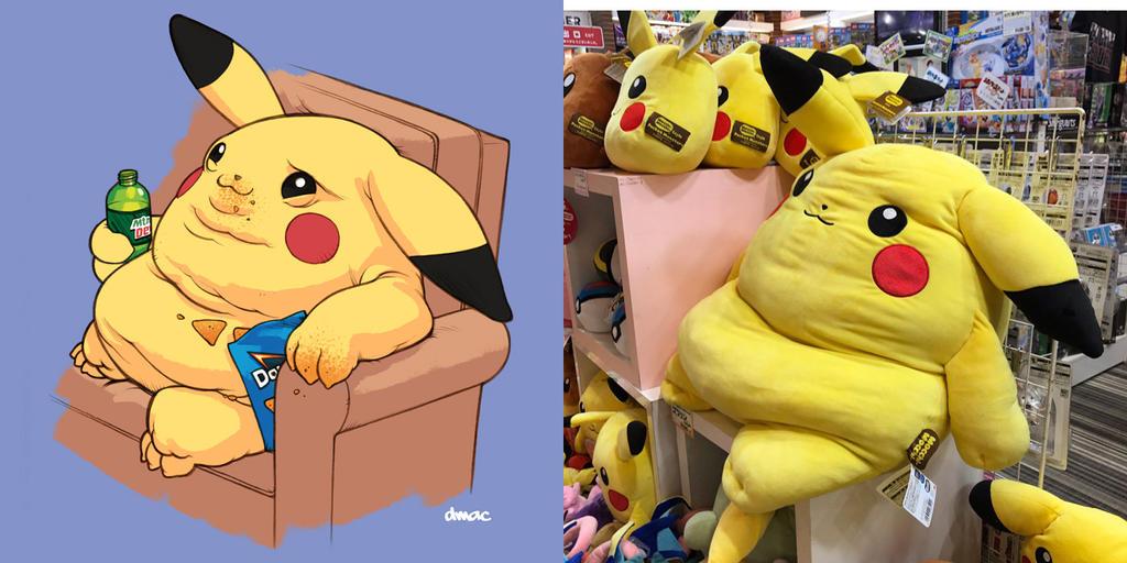 Pikachu Fan Art by D-MAC