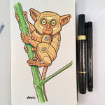 March of Robots Day 5: Tarsier