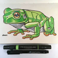 March of Robots Day 6: Frog by D-MAC