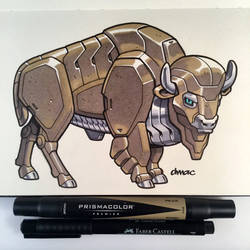 March of Robots Day 7: Buffalo by D-MAC