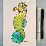 March of Robots Day 20: Seahorse