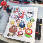 Nintendoodles by D-MAC