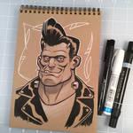 Drink and Draw Frankenstein