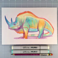 Iguanoceros by D-MAC
